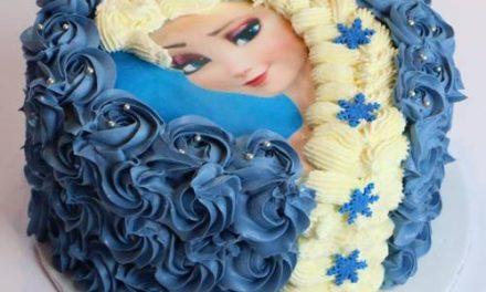 DIY : Réaliser un Gâteau Elsa la Reine des Neiges et sa jolie tresse – Décoration à la poche à douille