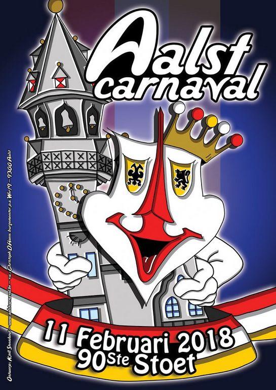 Carnaval Alost Aalst 2018 - Ma Folie Des Fetes