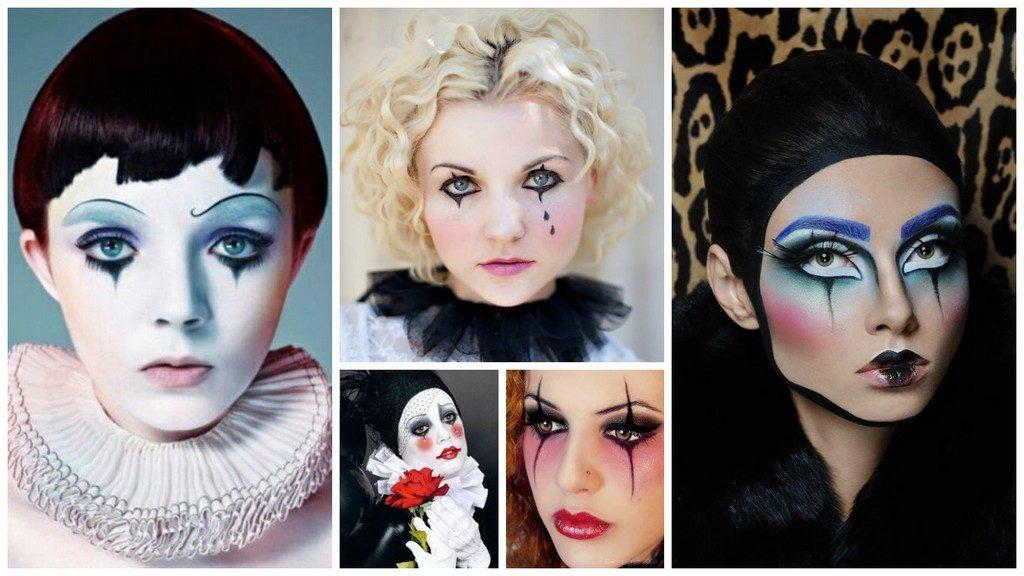 Maquillage de Pierrot et Colombine idées et tutos / Ma Folie Des Fêtes