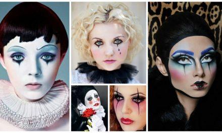 Le maquillage de Pierrot et Colombine : des idées et des tutos