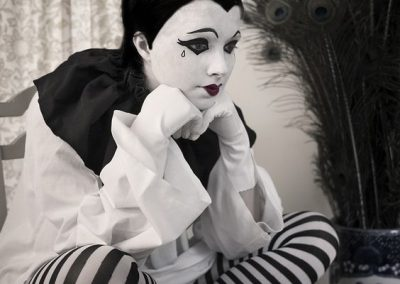 Maquillage de Pierrot et Colombine - photo 17 - Ma Folie Des Fêtes