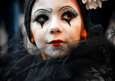 Maquillage de Pierrot et Colombine - photo 4 - Ma Folie Des Fêtes