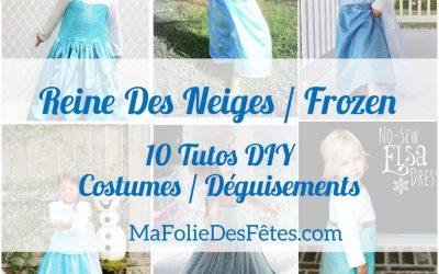 ★ 10 DIY : Tuto Costume enfant Elsa La Reine des Neiges (Frozen) ★