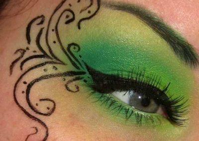 Le maquillage de la Fée Clochette Idées (photo 17) - Ma Folie Des Fêtes