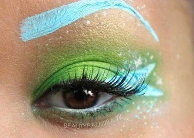 Le maquillage de la Fée Clochette Idées (photo 19) - Ma Folie Des Fêtes