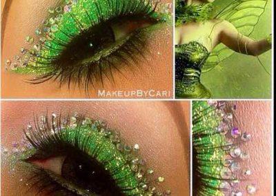Le maquillage de la Fée Clochette Idées (photo 20) - Ma Folie Des Fêtes