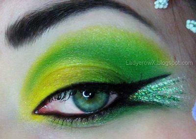 Le maquillage de la Fée Clochette Idées (photo 7) - Ma Folie Des Fêtes