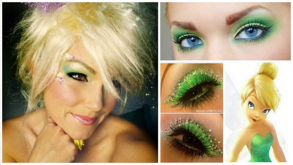 Le maquillage de la Fee Clochette Idees et tutos DIY makeup - Ma Folie Des Fetes