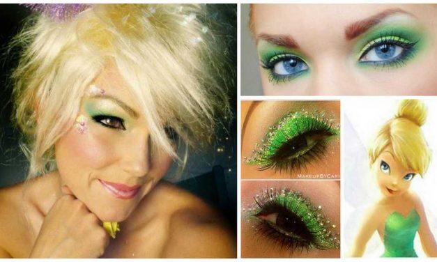 Le maquillage de la Fée Clochette : Idées et tutos DIY makeup