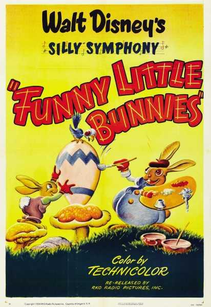 Petits lapins joyeux - Affiche - Ma Folie Des Fetes