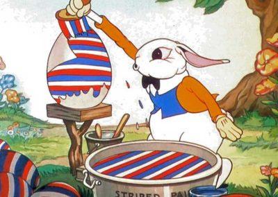 Petits lapins joyeux peignent les oeufs - Ma Folie Des Fetes