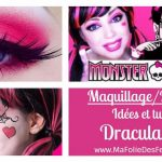 DIY – Maquillage Draculaura Monster High : Idées et tutos makeup