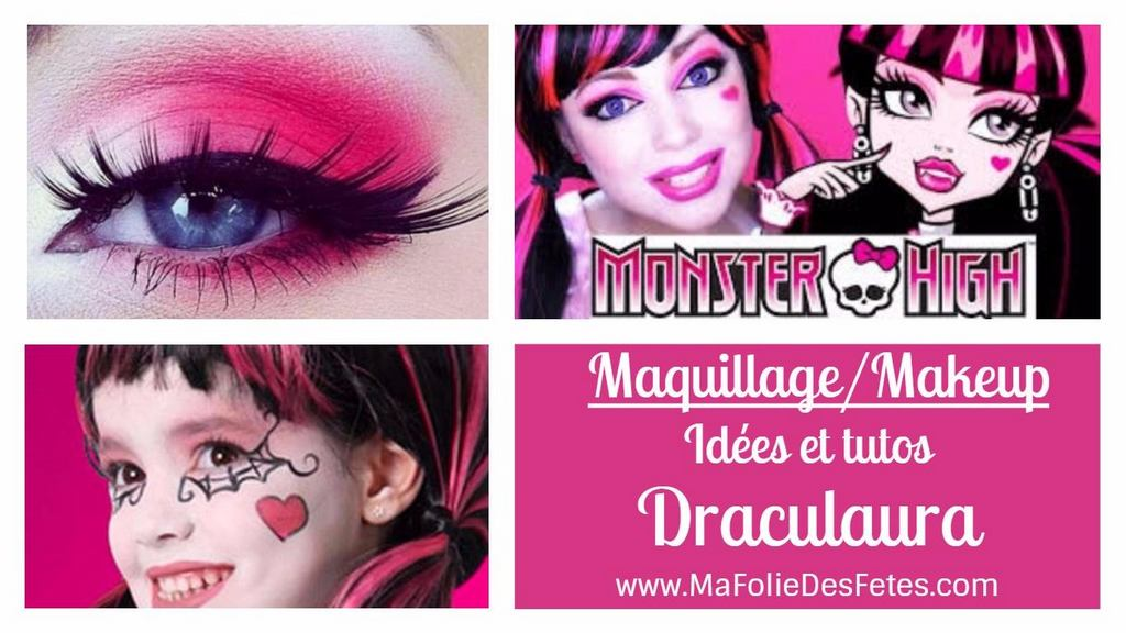 Draculaura Monster High 2Ma Folie Des Fêtes