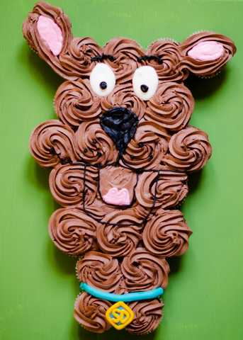 Gâteau cupcakes Scoubidou