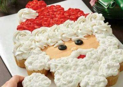 Gateau cupcakes Pere Noel wilton