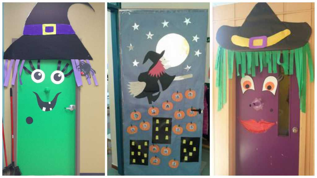 D corations de porte de classe pour halloween ma folie for Idee decoration porte de classe