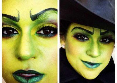 Idées et tutos DIY makeup - Le maquillage de la Méchante Sorcière de lOuest (2)