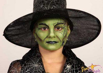 Idées et tutos DIY makeup - Le maquillage de la Méchante Sorcière de lOuest (4)