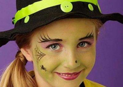 Idées et tutos DIY makeup - Le maquillage de la Méchante Sorcière de lOuest (5)