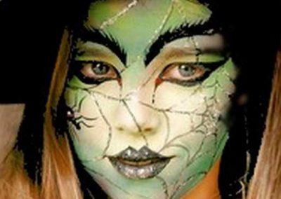 Idées et tutos DIY makeup - Le maquillage de la Méchante Sorcière de lOuest (6)