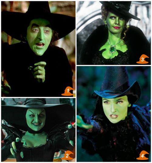 Les 4 visages de la méchante sorcière de l'ouest - Ma Folie Des Fêtes