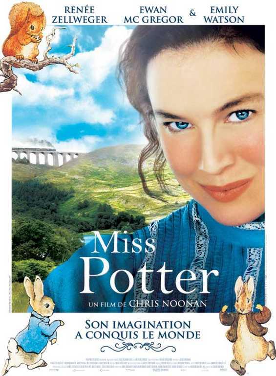 Miss Potter - Affiche du film - Ma Folie Des Fetes