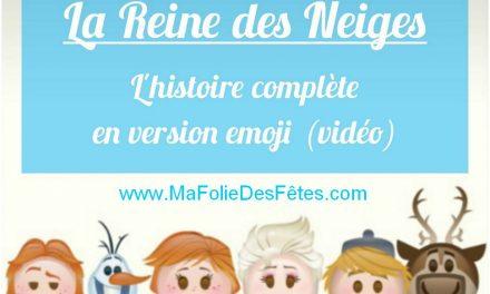 ★ Histoire complète version emoji de la Reine des Neiges / Frozen (video) ★