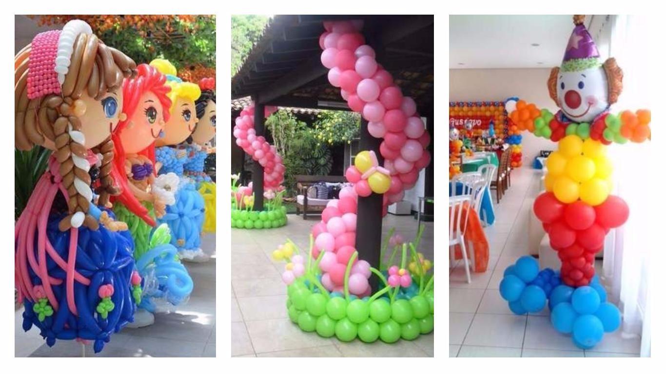Sculpture de ballons 3 exemples - Ma Folie Des Fêtes