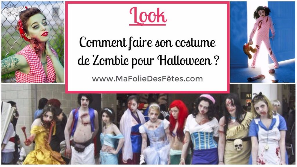 costume de zombie comment faire son d guisement pour halloween ma folie des f tes. Black Bedroom Furniture Sets. Home Design Ideas