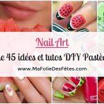 Nail art Pastèque : + de 45 idées et tutos DIY