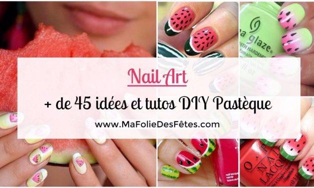 ★ Nail art Pastèque : + de 45 idées et tutos DIY ★