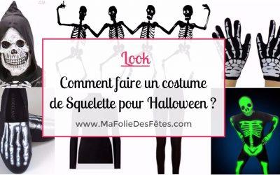 ★ SQUELETTE : Comment faire un costume de squelette ? Tutos DIY ★