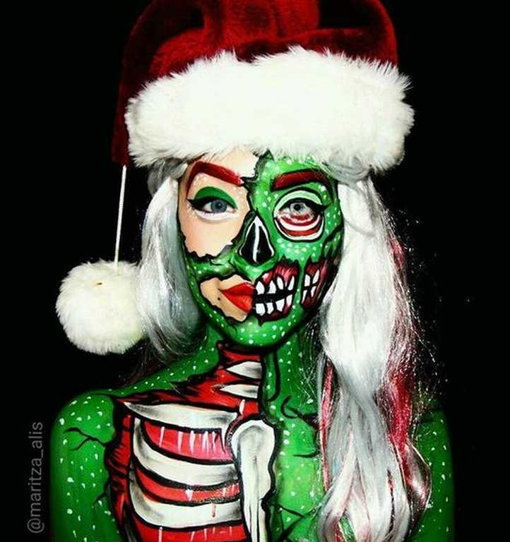 Maquillage de zombie awesome maquillage zombie facile u tuto et rapide raliser with maquillage - Tuto maquillage zombie ...