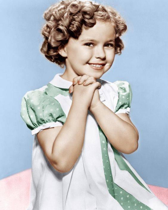 Shirley Temple (enfant) - Ma Folie Des Fetes