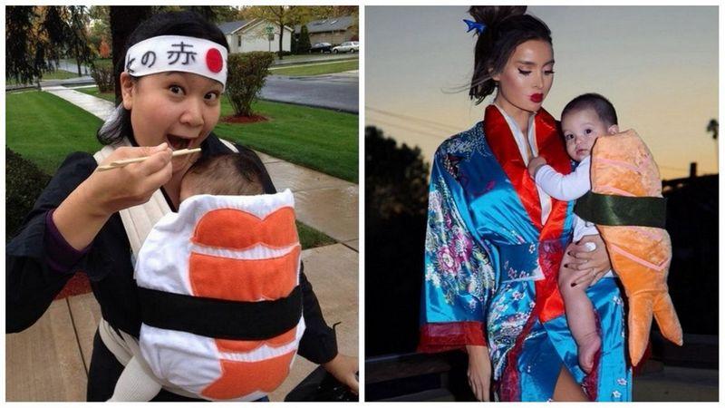 Déguisement porte-bébé gourmand version sushi - Ma Folie Des Fêtes