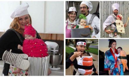 ★ Bébé : Des idées pour réaliser un déguisement porte-bébé gourmand ★