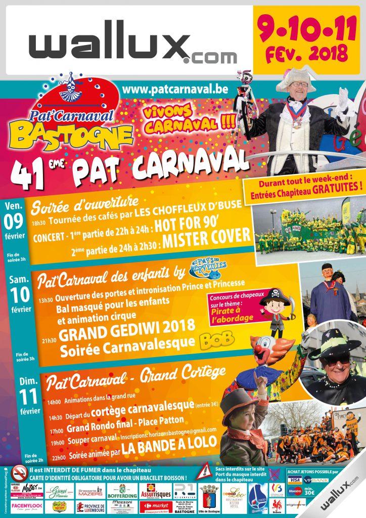 le-pat-carnaval-de-bastgne-2018 - Ma Folie Des Fetes