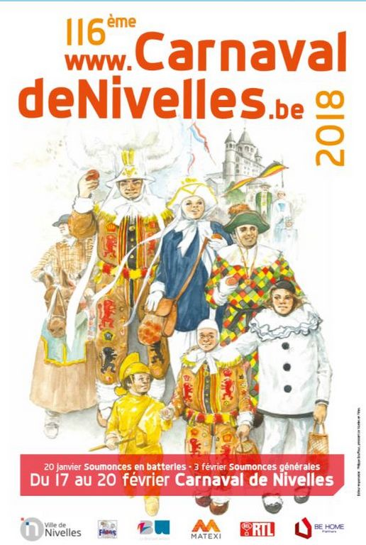 Carnaval de Nivelles 2018 - Ma Folie Des Fetes