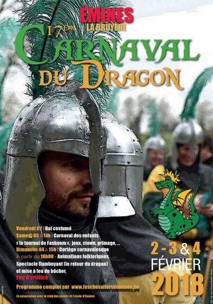 Carnaval du Dragon a Emines Belgique 2018 - Ma Folie Des Fêtes