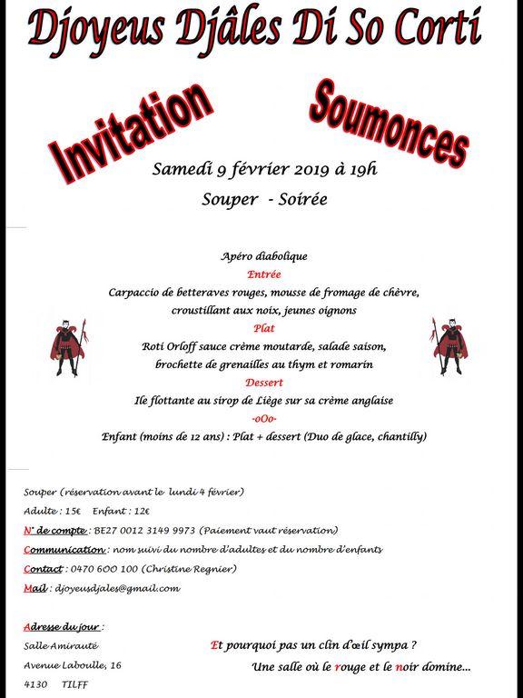 Carnaval Tilff - Soumonces 2019 - Ma Folie Des Fetes