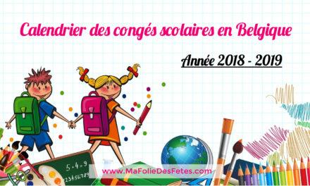 ★ Le calendrier des congés scolaires en Belgique ★