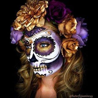 Sugar skull Butterflyjasmine49 - Ma Folie Des Fetes