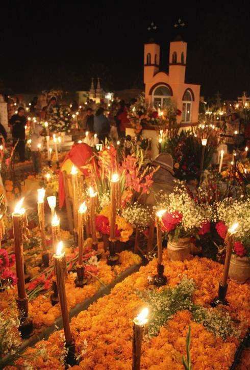 Dia de los muertos - Fete des morts au Mexique -Ma Folie Des Fetes