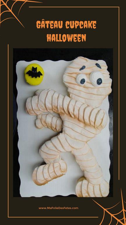 Gateaux cupcakes Halloween momie - Ma Folie Des Fetes