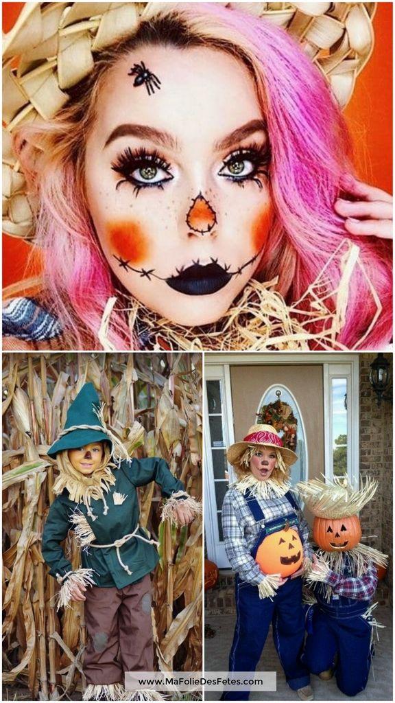 Idées déguisements pour Halloween Epouvantail - Ma Folie Des Fêtes