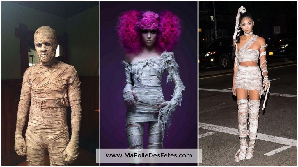 Idées déguisements pour Halloween Momie Ma Folie Des Fêtes