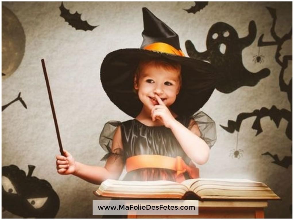 Idées déguisements pour Halloween Sorcière - Ma Folie Des Fêtes