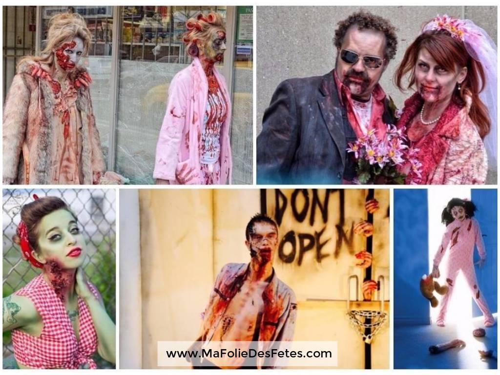 Idées déguisements pour Halloween Zombie - Ma Folie Des Fêtes