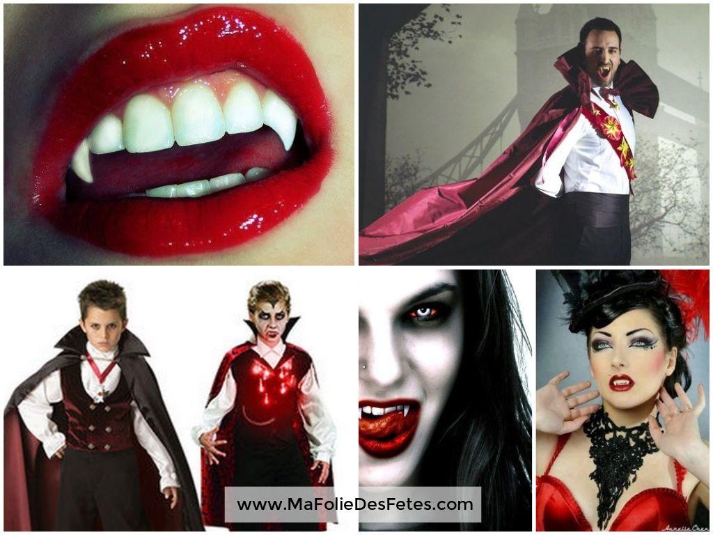 Idées déguisements pour Halloween Vampire - Ma Folie Des Fêtes