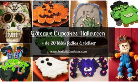 ★ Les Gâteaux cupcakes Halloween : + de 20 idées faciles à réaliser ★